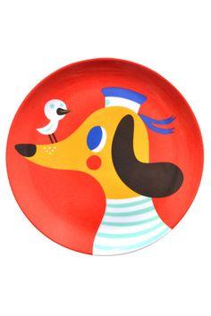 Helen Dardik plate - Dog