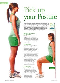 Simple posture exercises that you can do without a gym. Find more reasons to train your posture here: http://www.itrainelite.com/fitness-nutrition/guides-posture-training.aspx