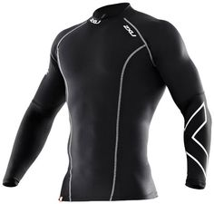 Amazon.com: 2XU Men's Thermal Compression Long Sleeve Top (Black/Black, Large): Sports & Outdoors