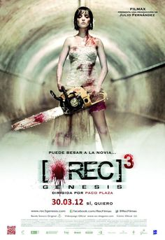 Watch [REC] Genesis (English Subtitled) now on your favorite device! Enjoy a rich lineup of TV shows and movies included with your Prime membership. Horror Movie Posters, Sci Fi Horror Movies, Best Zombie Movies, All Movies, Movies Online, 3 Movie, Awesome Movies, Javier Botet, New Poster