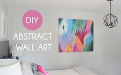 DIY Abstract Art | My Crafty Spot - When Life Gets Creative
