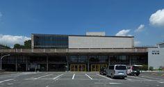 """神奈川県立図書館・音楽堂 -  1954年   """"Kanagawa Concert Hall 2009"""" by Wiiii"""