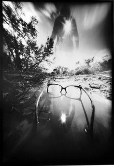 Glasses Vision..pinhole work by John Fobes.