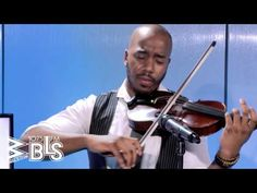 """Watch Violinist, Damien Escobar pay tribute to the legendary #WhitneyHouston as he performs at WBLS Studios! The award winning Violin Crooner did a special rendition of """"I Look To You"""" in honor of the three year anniversary of Houston's death."""
