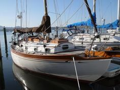Some days I want to live on a sailboat. Like the beautiful Baba 30.
