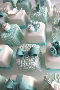 Tiffany Mini Cakes <3