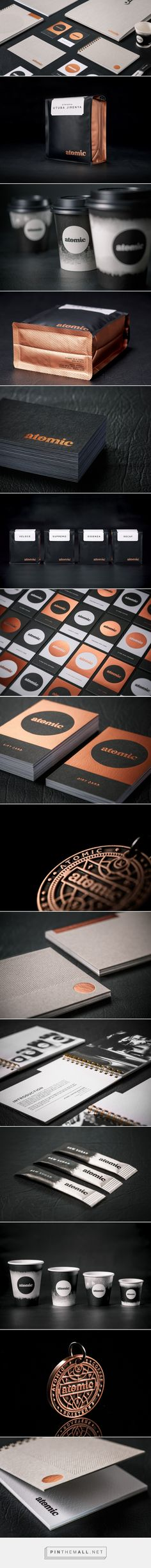 Atomic Coffee Roaster Branding by Fuman | Fivestar Branding Agency – Design and Branding Agency & Curated Inspiration Gallery
