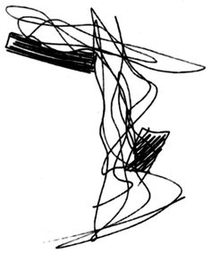 sketch from zaha hadid