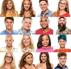 BIG BROTHER 16 USA - click image twice to reach ranker.com to vote or rerank