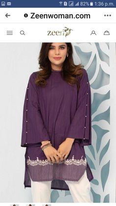 | 1000 Simple Pakistani Dresses, Pakistani Fashion Casual, Pakistani Dress Design, Pakistani Outfits, Stylish Dresses For Girls, Stylish Dress Designs, Casual Dresses, Baggy Dresses, Ladies Kurti Design