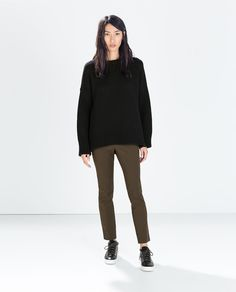 ZARA - COLLECTION AW14 - TROUSERS WITH SIDE ZIP
