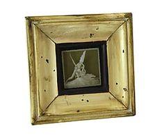 Cornice portafoto da tavolo in legno anticato Andalucia - 15x15 cm