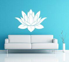 Lotus Flower Vinyl Decal Wall Art Spiritual by EmpireCityStudios, $34.95