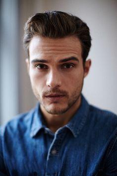 Hairstyle for man - modern & trendy haircut (model: Ryan Cooper)