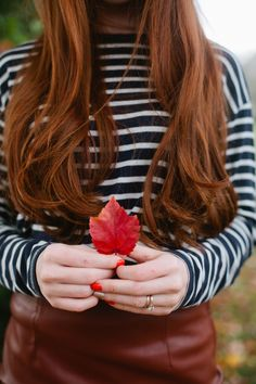 #Autumn is fast approaching and with it comes the fall fashion trends that are perfect for redheads. There is just something about the changing leaves that makes our fiery locks shine even more!
