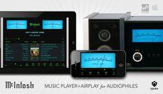 MCINTOSH AUDIO PLAYER1 on Behance