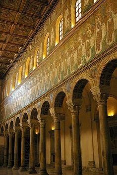 Sant'Appollinare Nuovo - Ravenna, Emilia-Romagna, Italy