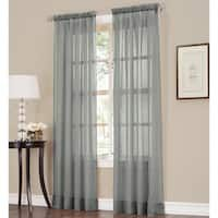 918 Erica Sheer Crushed Voile Single Curtain Panel x 63 - 63 Inches - Taupe), Beige (Polyester, Solid) Voile Curtains, Sheer Curtain Panels, Curtain Lights, Hanging Curtains, Blackout Curtains, Panel Curtains, Curtains Living, Window Treatment Store, Window Treatments