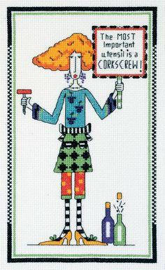 Janlynn Dolly Mamas Cross Stitch Kit
