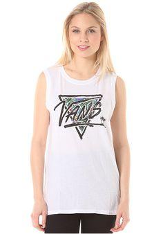 Vans Palm Brush - T-Shirt für Damen - Weiß - Planet Sports