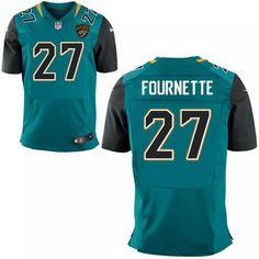 2017 NFL Draft Jacksonville Jaguars #27 Leonard Fournette Teal Green NFL Nike Elite Jersey
