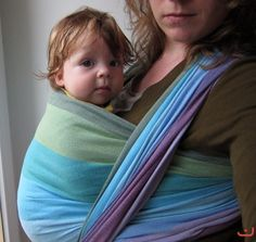 Natural Mamas Girasol wrap - loving the colors!!