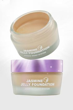 For building light and natural coverage, this kind of application is revolutionary. I like using a sponge dampened with a facial mist to apply this product for a natural, semi-dewy finish.  BRTC Jasmine Jelly Foundation