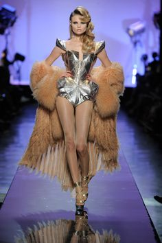 Jean Paul Gaultier, Les Actrices [Movie Stars] collection, Barbarella body-corset, fall/winter 2009-2010