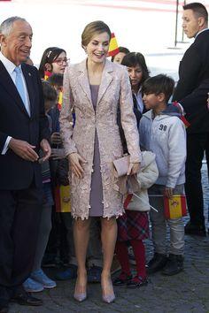 Coat and dress:Felipe Varela Shoes:Magrit
