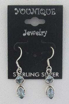 Blue Topaz Gem .925 Sterling Silver