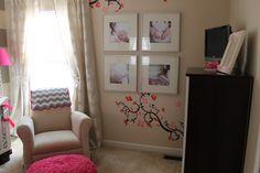 Decoração de quarto de menina (fugindo do rosa bebê!)