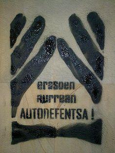 #autodefensa_feminista #BeldurBarikLehiaketa2015 #ZureHerria #BBekintzak Stencils, Equality, Templates, Stenciling, Painting Stencils, Sketches