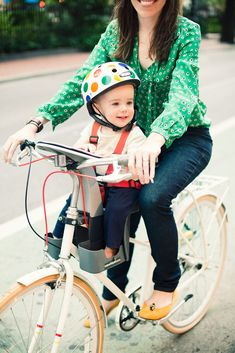 A CUP OF JO: Motherhood Mondays: Riding bikes with babies