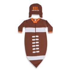 ad8da81bb Sozo® Football Bunting and Cap Set - buybuyBaby.com Newborn Football,  Football Baby