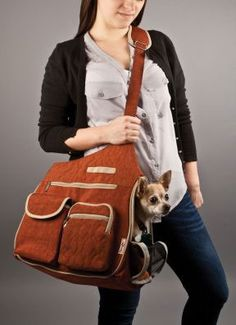 The Kelsey Cross-Body style pet bag is an excellent example of style and function. Available in two different colors, surely you and your pet can agree on one o Dog Seat, Dog Car Seats, Dog Carrier Purse, Sling Carrier, Dog Sling, Airline Pet Carrier, Pet Bag, Pet News, Pet Furniture