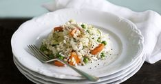 Create this easy and delicious risotto from leftovers.
