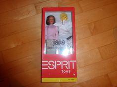 Barbie Puppe lange Haare von Esprit, mit Zubehör - Neu mit Orginalverpackung   5.5 euro + del