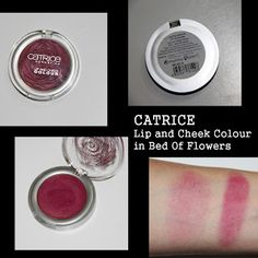 MichelaIsMyName: CATRICE Lip and Cheek Colour in Bed Of Flowers REV...
