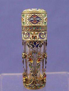Vintage decorative perfume bottle.