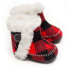 Plaid is rad in these buffalo-plaid boots! Hunter Boots Kids, Toddler Learning, Knee High Socks, New Today, Buffalo Plaid, Vegan Leather, Faux Fur, Booty, Buffalo Check
