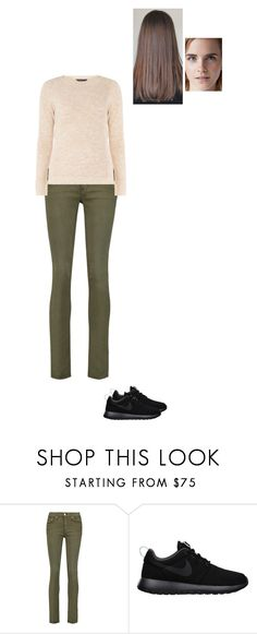 """Sem título #8036"" by gracebeckett on Polyvore featuring moda, rag & bone, NIKE e mel"