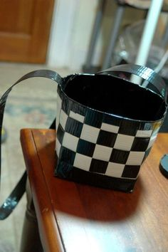 Duct Tape Basket