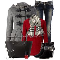 """Duffle Coat"" by casuality on Polyvore"