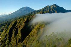 View on Gunung Agung
