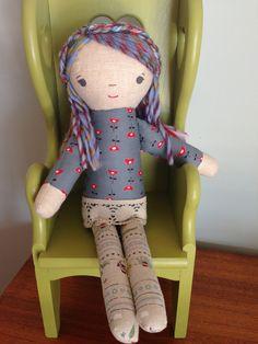 Pretty handmade doll