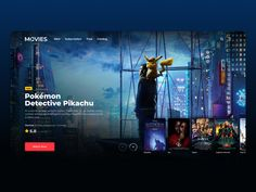 Online Cinema Concept designed by Vlad Russkikh. the global community for designers and creative professionals. Movie Sites, Free Catalogs, Adobe Xd, Landing Page Design, Saint Charles, San Luis Obispo, Show And Tell, Web Design Inspiration, Terms Of Service