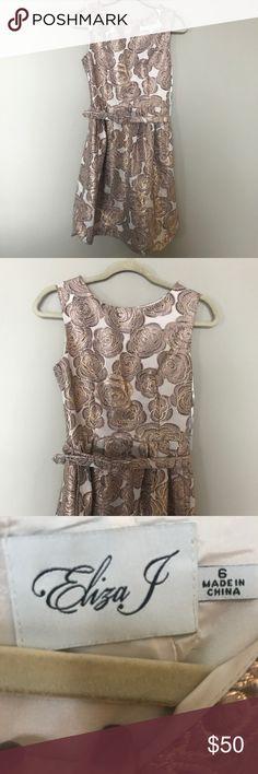 "[Eliza J] Rose Gold Dress Size 6 NWT 38"" long 15"" bust 13.5"" waist Eliza J Dresses"
