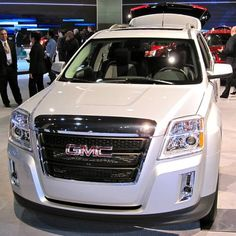 GMC Terrain. Im getting this immediately after I graduate and get a job. =)))