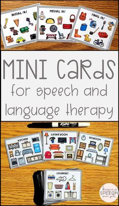 These speech and language mini cards are ideal for the traveling SLP. They are compact enough for any speech bag, allowing for more targets with less speech therapy materials. These cards can be used in the speech room or can be sent home as reinforcement activities. This must have speech therapy resource can be used with preschool, kindergarten and elementary speech students. These cards target articulation, vocabulary, carryover, fluency and more!