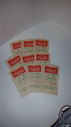 0 One 1930s Vintage Advertising soft drink bottle wrap by cipmunk